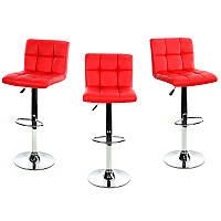 Барный стул Hoker MONZO. Цвет красный.