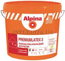 ALPINA Premiumlatex 3 E.L.F. B3 9,4л матовая латексная краска