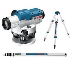 Нивелир оптический Bosch GOL 26 D + BT 160 + GR 500