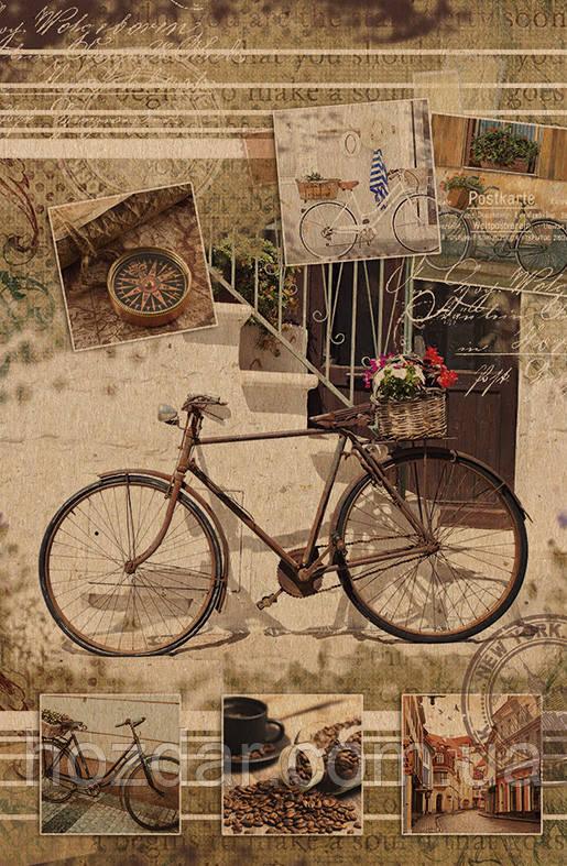Пакет подарочный бумажный крафт малый 11х18х6 (21- 097)