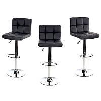Барный стул Hoker MONZO. Цвет черный.