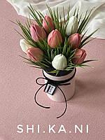 "Мыльный букет ""Тюльпаны"" к празднику"