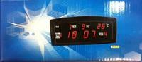 Часы 909-а, со встроенным календарём, будильником, комнатным термометром, для настольного размещения, 220в