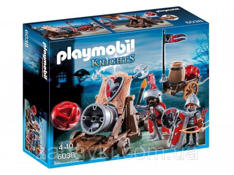 Playmobil 6038 Бойова гармата Лицарів Сокола (Конструктор Плеймобил Боевая пушка Рыцарей Сокола)