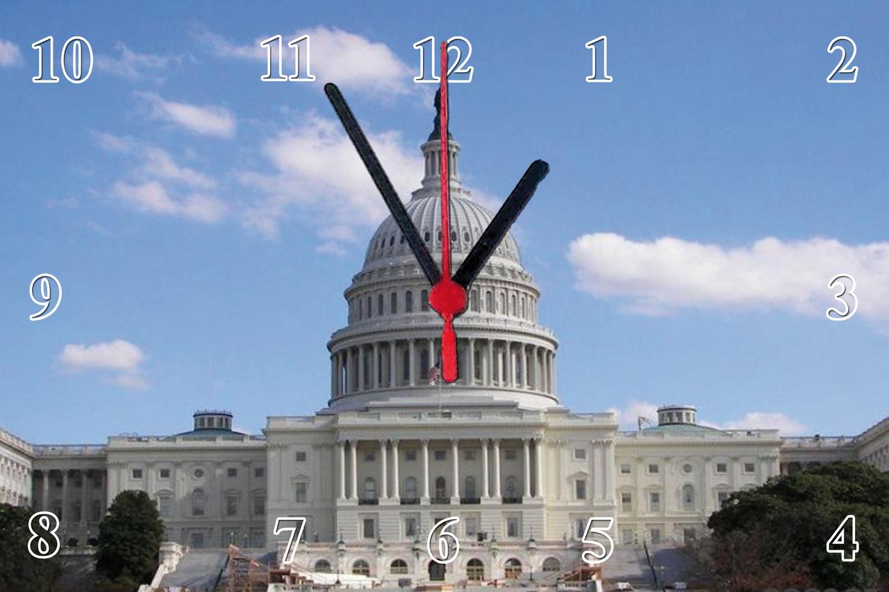 """Настенные часы МДФ  """"Вашингтон"""" кварцевые"""