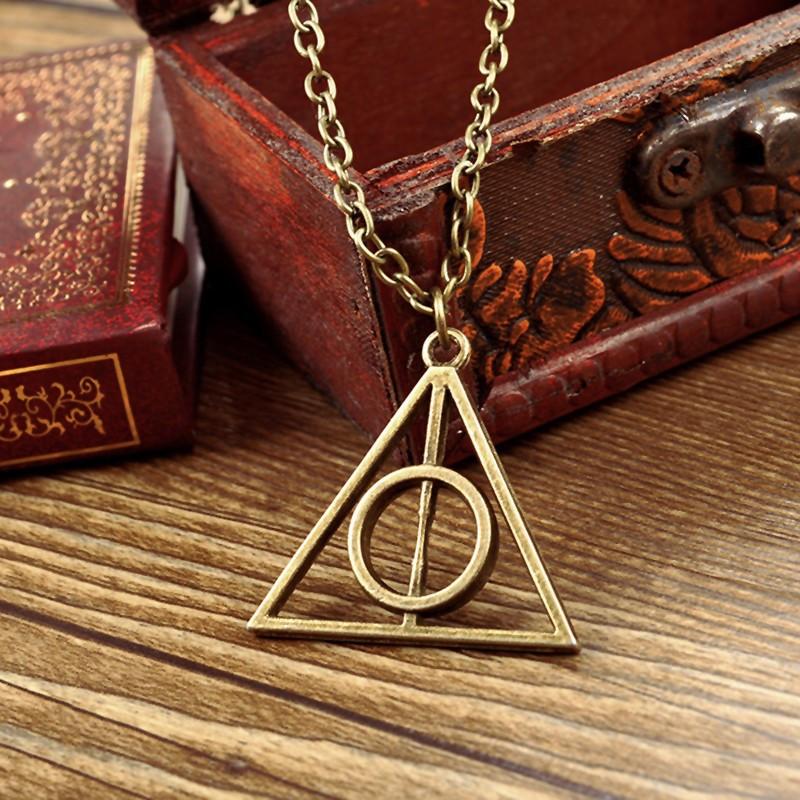 Ожерелье подвеска треугольник Гарри Поттера