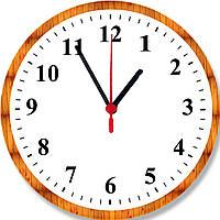 "настенные часы ""Classic""  круглые pine, фото 1"