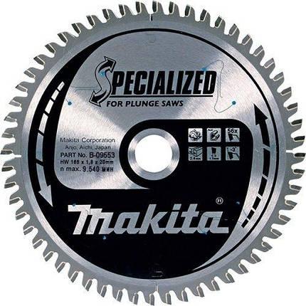 Диск пильный Makita 160 Z60 по алюминию, фото 2