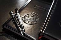 Брендированная ручка с картой памяти, black