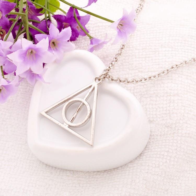Намисто «Трикутник Гаррі Поттера» кольори: срібло, золото, бронза. Без ланцюжка