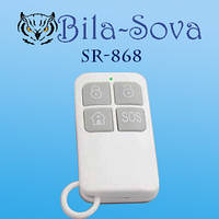 Брелок радио-канальный SR-868, беспроводной пульт ДУ, 868 МГц, Tesla Security