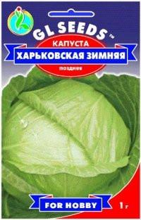 Насіння капуста Білокачанна Харківська Зимова