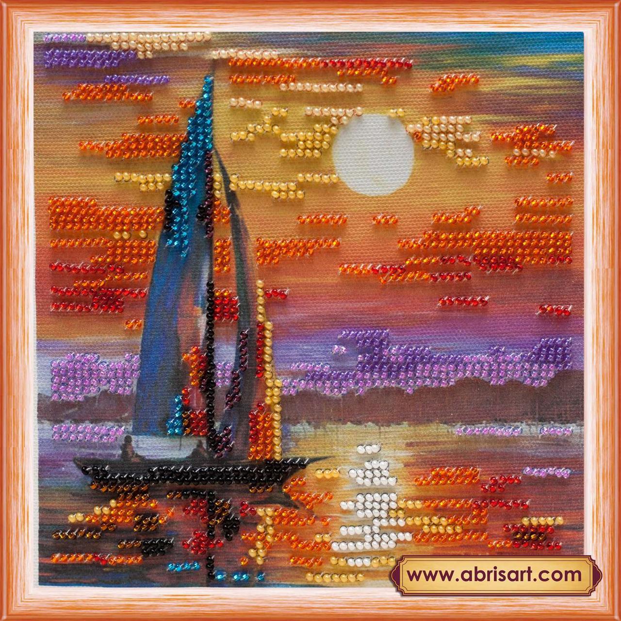 Набор для вышивки бисером ТМ АБрис Арт на натуральном художественном холсте Штиль