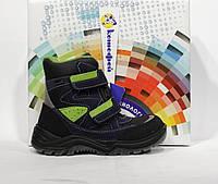 Шикарные зимние термо ботинки Котофей, мембрана Ori-tex, Оригинал, фото 1