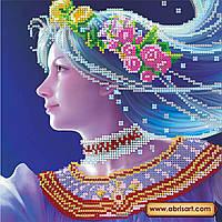 Схема для вышивки бисером на натуральном художественном холсте Дива