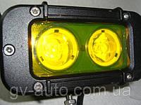 Противотуманные фары 20Вт.   GV 1020S  IP67  желтые 1шт. https://gv-auto.com.ua, фото 1