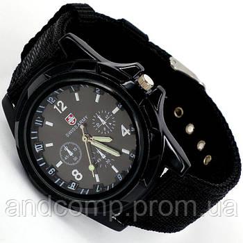 Часы наручные мужские Swiss Army, кварцевые армейские + Подарок!