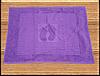 Коврик для ванной 50*70 махровый (TM Zeron) 800г/м2 фиолетовый, Турция