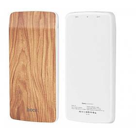 Внешний аккумулятор Power Bank Hoco J5 Wooden 8000mAh Original. Грушевая древесина