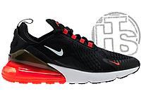 Мужские кроссовки Nike Air Max 270 Black White Red AH8050-016