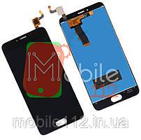 Модуль для Meizu M5 (M611), M5 mini Дисплей + тачскрин, черный оригинал PRC