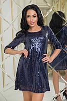 Платье с поедками свободного кроя , фото 1