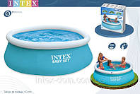 Бассейн 183x51 см, Easy Set, Intex 28101/54402