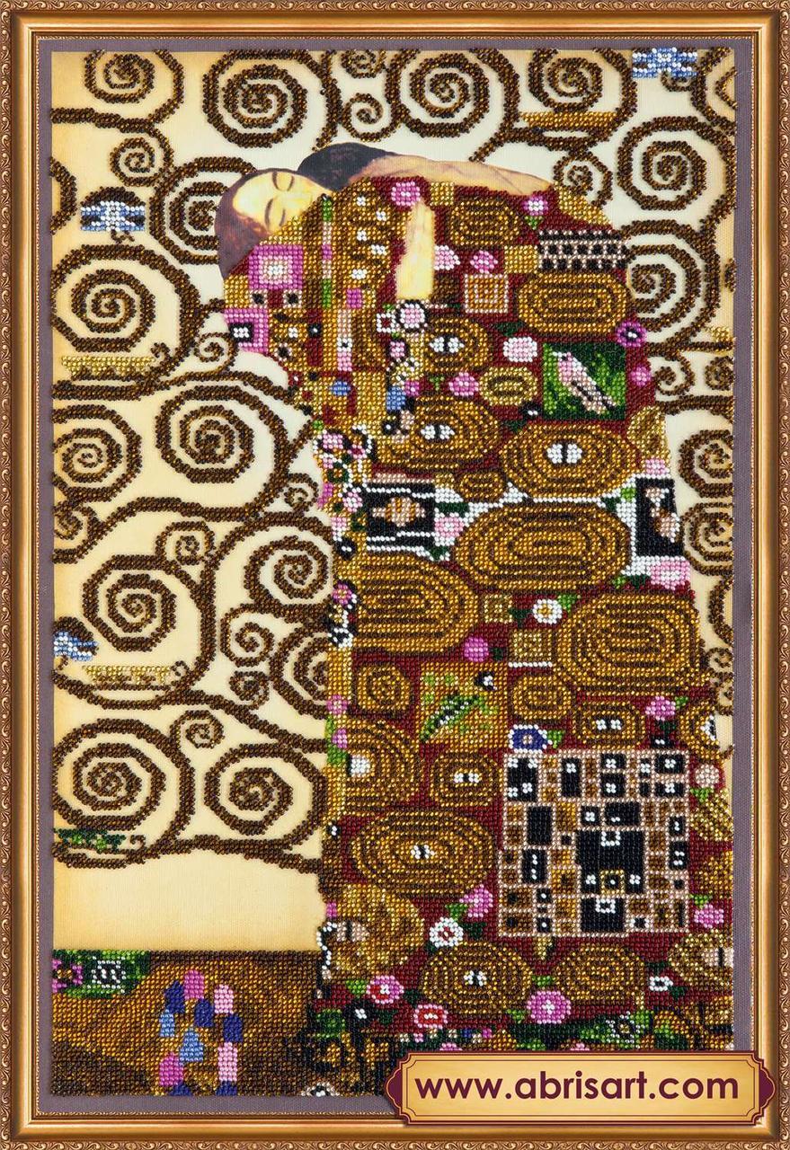 """Набор для вышивки бисером ТМ АБрис Арт на натуральном художественном холсте """"Объятия"""""""