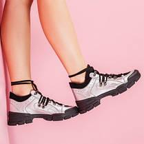 Модные женские кроссовки натуральная кожа Размерный ряд 36-40, фото 3