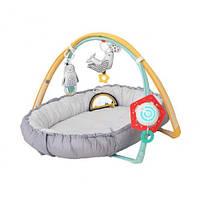 Уютное гнездышко. Развивающий музыкальный кокон с дугами «Полярное Сияние» 4-В-1 Taf Toys 12235