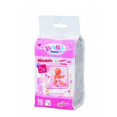 Подгузники для куклы Baby Born в наборе 5 шт Zapf 826508