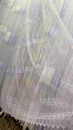 Тюль фатин белый IST-1158, фото 2
