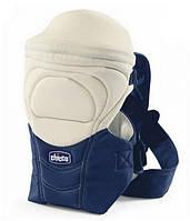 Эрго рюкзак-кенгуру Chicco Soft & Dream blue passion, для новорожденных, нагрудная переноска для ребенка.