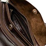 Трендовий рюкзак з натуральної шкіри на одне плече GX-3026-4lx бренд TARWA, фото 8