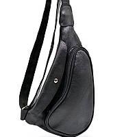 Практичный рюкзак на одно плечо из телячьей кожи GA-3026-3md бренд Tarwa, фото 1