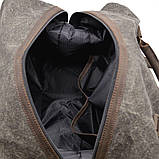 Сумка дорожная парусина + кожа, RG-8310-4lx TARWA, фото 7