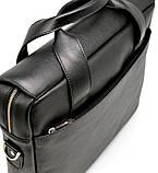 Крутая кожаная деловая сумка-порфель для ноутбука TA-1812-4lx от TARWA, фото 7