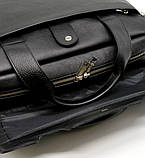 Крутая кожаная деловая сумка-порфель для ноутбука TA-1812-4lx от TARWA, фото 8