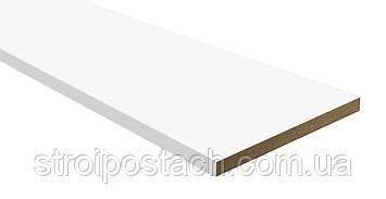 Доборная доска 100 мм белый матовый, комплект