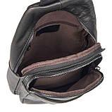 Мини-рюкзак мужской на одну шлейку 4013A  , фото 7