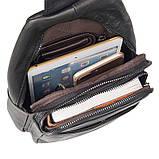 Мини-рюкзак мужской на одну шлейку 4013A  , фото 8