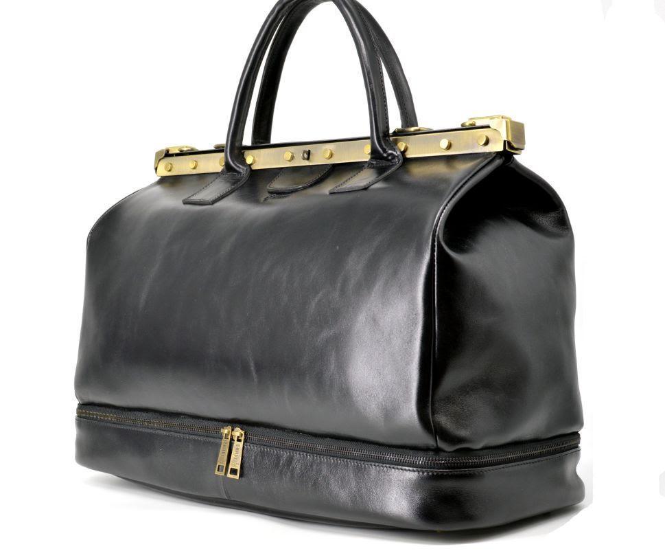 Кожаная сумка-саквояж с двойным дном TA-1185-4lx TARWA, фото 1