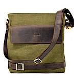 Мужская сумка парусина+кожа RH-0040-4lx Tarwa, фото 2