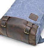 Рюкзак молодіжний парусина + шкіра RK-1210-4lx TARWA, фото 7