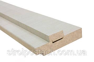 Коробка cortex мдф 100х33х2050 мм bianco line, комплект