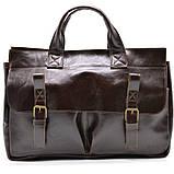 Чоловіча шкіряна сумка для документів GX-7107-3md TARWA, фото 2
