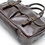 Чоловіча шкіряна сумка для документів GX-7107-3md TARWA, фото 4