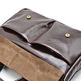 Чоловіча шкіряна сумка для документів GX-7107-3md TARWA, фото 5
