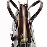Чоловіча шкіряна сумка для документів GX-7107-3md TARWA, фото 8