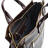 Чоловіча шкіряна сумка для документів GX-7107-3md TARWA, фото 9
